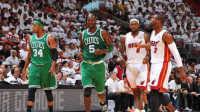 【布鲁NBA2K17实况】街头篮球:热火三巨头vs凯尔特人三巨头!詹姆斯韦德加内特皮尔斯(二)