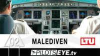 [飞行全记录]飞行员之眼 EP2 杜塞尔多夫—马尔代夫