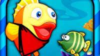 大鱼吃小鱼 小鱼慢慢长大了 亲子游戏 儿童益智游戏 大侠笑解