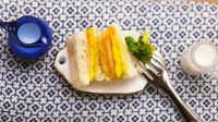 迷你厨房特别版之鸡蛋火腿三明治 220