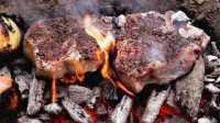 【烤肉老哥】洞穴碳灼牛排