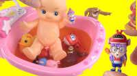 小猪佩奇娃娃洗澡奇趣蛋入浴球