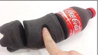 咩咩趣 Kinetic Sand动力沙做一瓶可口可乐