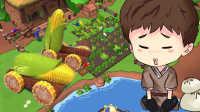 【小枫的沙盒生存】玉米加农炮与南瓜投石机! | 农场生活#6
