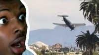 [叶猫] GTA5飞机飞到一半 飞行员挂了!队友懵逼!