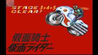 【蓝月解说】假面骑士(SFC)第3+4+5关【假面骑士系列视频】【游戏不错 找个机会再玩正常模式】