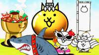 【小熙解说】喵星人大战 开金色扭蛋!女王假日喵的宠物竟然是大鲨鱼!