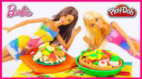 手工DIY彩虹披萨玩具 42