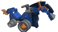 乐高LEGO未来骑士团—迷你机械马 动画积木拼搭