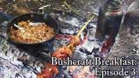 【野餐露营】丛林早餐之洋葱杂烩饭和培根串