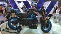 「车型实拍」光阳400cc级街车K-Rider和踏板赛艇400摩博会实拍