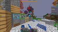 肥皂解说 我的世界幸运方块空岛战争 丝血击杀无敌走位 Minecraft服务器起床战争PVP小游戏
