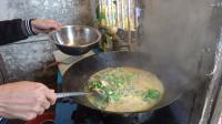 农村小伙教你做一道家乡菜,红薯粉煮鲫鱼看完学会了吗