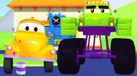 拖车汤姆的油漆店 第8集 马力是绿巨人