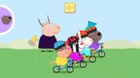【肉肉】小猪佩奇 小猪骑自行车