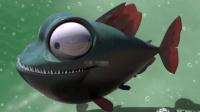 【逍遥小枫】远古巨骨鱼!谁说我是低配版邓氏鱼啦?? | 海底大猎杀(Fish Sim)#34