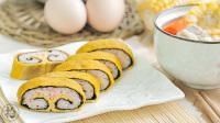 紫菜虾仁蛋卷配排骨汤 177