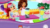 LEGO乐高姐妹做果汁-乐高小游戏 乐高拼装玩具