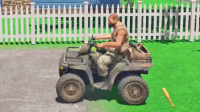 3D死亡单车,越野车大叔躲炮弹(勇气与荣耀)