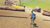 3D死亡单车,带儿子过刺刀木桩(勇气与荣耀)
