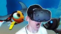 【XY小源VR】VR版海底大猎杀 大鲨鱼来巡逻
