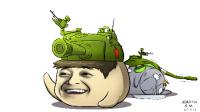 《折腾5号的坦克世界逗神实况》老司机与王雷雷的翻车实况!.mp4