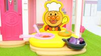大厨烹饪变色玩具 做咖喱汉堡肉套餐