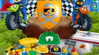 LEGO乐高城市摩托-乐高小游戏 乐高玩具