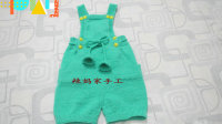 辣妈家手工第七十四集时尚宝宝短裤编织方法