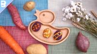 讨宝宝喜欢的薯味彩蛋