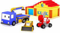 迷你卡车 🚚  工程卡通 👷 周末合集