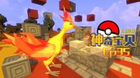 【甜萝MC实况】精灵宝可梦二周目Ep.35 神奇宝贝之神兽火焰鸟&精灵个体值与努力值查询★我的世界Minecraft《明月庄主的多人服务器生存》