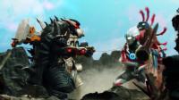 字幕 超级欧布格斗 04 话 欧布X赛罗对战怪兽军团 佐菲 赛文 杰克赶到 1080p
