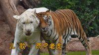 儿歌 两只老虎 小白兔白又白 数鸭子 小毛驴 拔萝卜小燕子 经典儿歌动物实拍视频