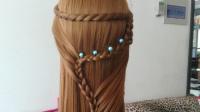 就是这么简单!时尚淑女发型编发教程简单好看一步一步教