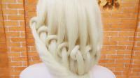 简单的创意编发造型发型北京托尼盖教育