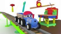 火车泰德 🚄 第8集 🔧 在工作台 学习工具 周末合集
