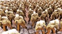 全面史诗战争模拟器:1000只僵尸大战1个超级英雄chunk norris
