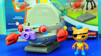 海底小纵队 DIY玩具 无限组装小潜艇 亲子益智 趣味玩具