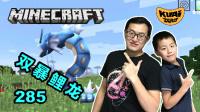 【酷爱游戏解说】我的世界Minecraft神奇宝贝模组生存285双暴鲤龙,这确定是鲤鱼变的?