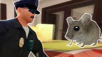 【XY小源】模拟老鼠 与保镖人类的对抗 地上还有汉堡包