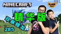 【酷爱游戏解说】★精华版★我的世界285双暴鲤龙,Minecraft神奇宝贝模组生存