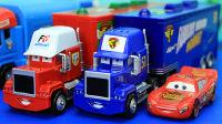 汽车总动员 麦大叔卡车和麦坤小赛车 迪士尼玩具 儿童玩具