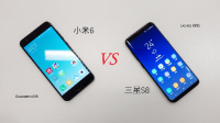 三星Galaxy S8对比小米6
