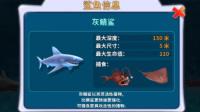 【肉肉】饥饿鲨鱼进化 03灰鲭鲨!150米
