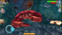 【肉肉】饥饿鲨鱼进化 04哇吼!巨型螃蟹!!!