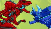 变形金刚大战恐龙战队 恐龙世界霸王龙 侏罗纪世界
