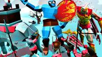 【屌德斯解说】 史诗战争模拟器2 手机版全面战争模拟器,巨人大战斯巴达!