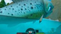 【落尘】逆天三文鱼化为蛟龙【下】500级会飞的三文鱼飞升为蛟龙,藐视一切生物