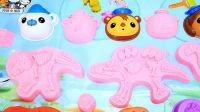 海底小纵队趣玩沙 DIY海底博物馆 亲子玩具 儿童玩具